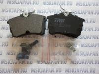 Колодки тормозные задние для Honda Accord 6 (1998-2002), Honda Accord 7 (2003-2007) GDB 3190S