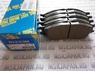 Передние тормозные колодки для Nissan Almera Classic (B10) 2006>, Nissan Almera N16 2000-2006 D1233M