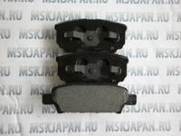 Задние тормозные колодки Mintex для Mitsubishi Lancer 9 (00-10) MDB2612