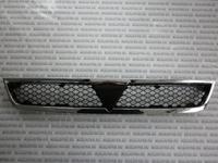 Решетка радиатора черная хром молдинг для Mitsubishi Lancer (CX,CY) (2007-) 7450A093