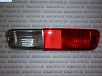 Фонарь противотуманный бампера задний левый TYC для Mitsubishi Pajero/Montero (V6, V7) (02-06) 17-A200-01-6B