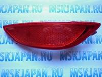 Накладка светоотражающая заднего бампера правая