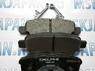 Задние тормозные колодки DELPHI для Mitsubishi Lancer 9 (00-10) LP1852