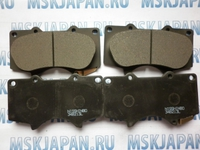 Колодки тормозные дисковые передние Nisshinbo для Mitsubishi Pajero/Montero IV (V8, V9) (07-) PF-1482