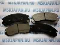 Колодки тормозные дисковые передние Nisshinbo для Mitsubishi Outlander XL (CW) (06-12) PF-3233