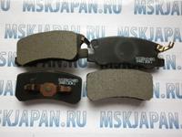 Колодки тормозные дисковые задние Nisshinbo для Mitsubishi Outlander XL (CW) (06-12) PF-3450