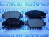 Задние тормозные колодки Kashiyama для Honda CR-V (06-12) D5159M