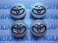 Колпачок для литого диска 62мм для Toyota Corolla 2000-2007)