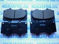 Передние колодки тормозные Akebono для Toyota Land Cruiser Prado (120) (02-09) AN-690WK