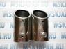 Наконечники для выхлопных труб из нержавеющей стали (хром)
