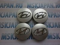 Колпачки ступицы колеса 60 мм для Hyundai Sonata V (2004-2010)
