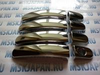 Хромированные накладки на ручки двери для Форд Фокус 3 (2005-2014)