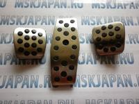 Накладки на педали МТ из нержавеющей стали