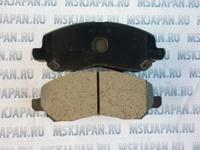 Колодки тормозные дисковые передние (оригинал) для Mitsubishi Lancer (CX,CY) (07-) MZ 690186