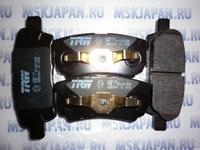 Задние тормозные колодки Lucas/TRW для Mitsubishi Lancer 9 (00-10) GDB 3341