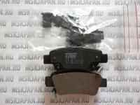 Задние тормозные колодки Lucas/TRW для Honda CR-V (06-12) GDB 3446