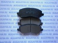 Колодки тормозные дисковые передние Kashiyama для Mitsubishi Lancer (CX,CY) (07-) D6108