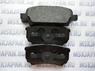 Задние тормозные колодки Textar для Mitsubishi Lancer 9 (00-10) 2401401