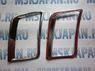 Хромированные накладки на воздуховоды в салоне для Hyundai Solaris
