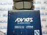 Передние тормозные колодки Advics для Toyota Camry V40 (2006-2011), Toyota Camry V50 (2011-) A1N154Z
