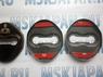 Накладка, чехол из нержавеющей стали на петлю замка двери для Mitsubishi Lancer, Asx, Outlander, Pajero, L200, Galant