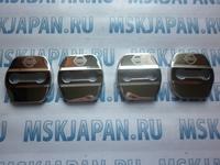 Накладка, чехол из нержавеющей стали на петлю замка двери для Nissan Qashqai j11 (2007-2017)