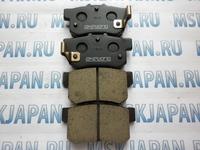Задние тормозные колодки Akebono для Honda Civic 8 (05-11) AN-310WK