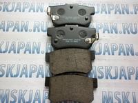 Задние тормозные колодки HSB для Honda Civic 8 (05-11) HP5062