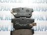 Задние тормозные колодки HSB для Honda Accord 9 (07-12) HP5062