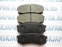 Задние тормозные колодки Akebono для Toyota Land Cruiser Prado (120) (02-09) AN-337K
